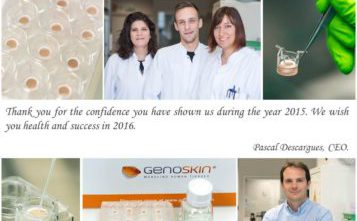 Genoskin wishes 2016