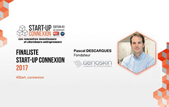 Genoskin Start-Up connexion finalist