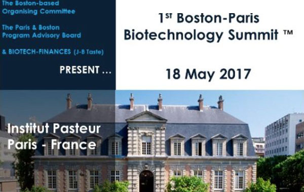 Boston Paris Biotechnology Summit 2017