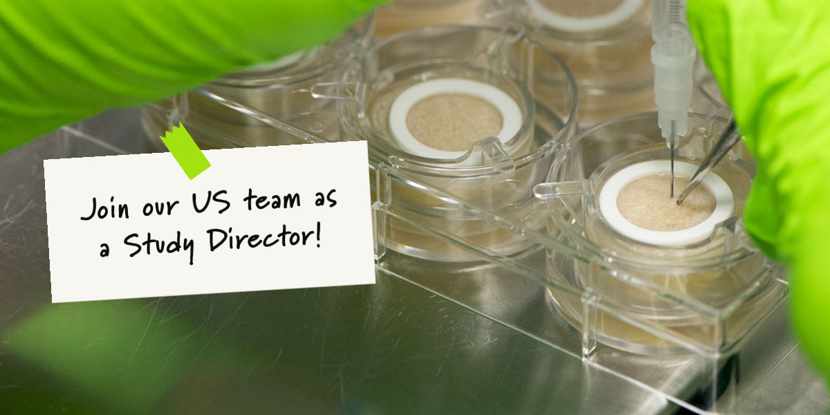 Join our US team as a study director
